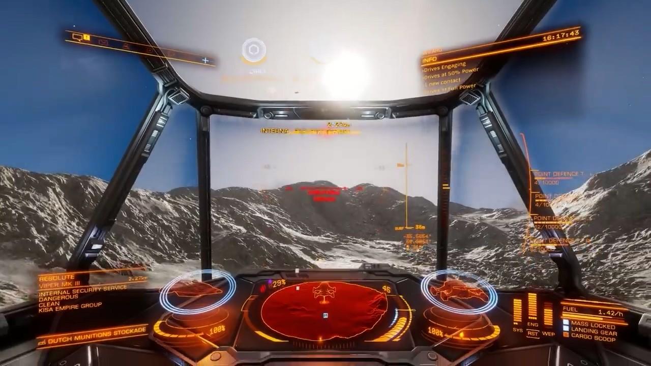 《精英危险:奥德赛》任务完整演示 PC Alpha 3月29日开启