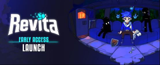 Roguelite新作《重生旅人(Revita)》现已开启Steam Early Access