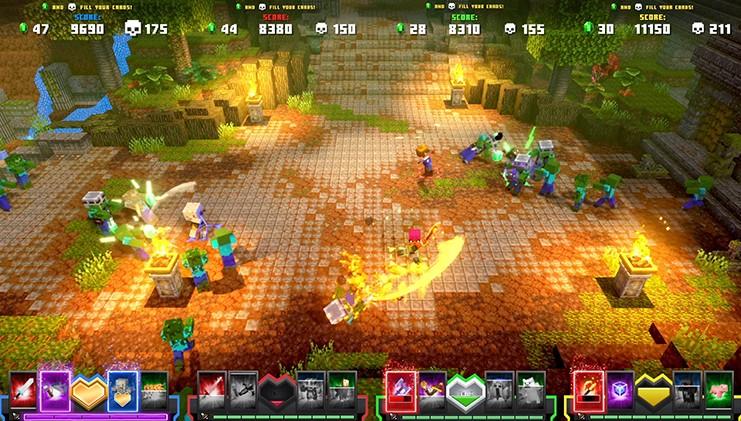 《我的世界:地下城》推出实体街机游戏 支持4人合作