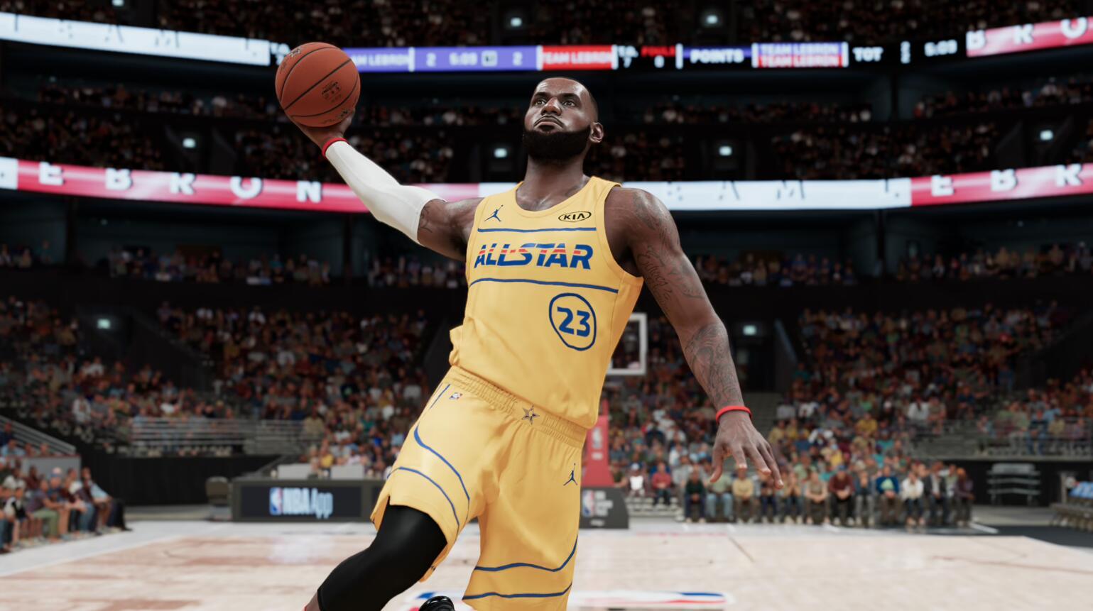全明星赛战火重燃 《NBA 2K21》球员评级更新