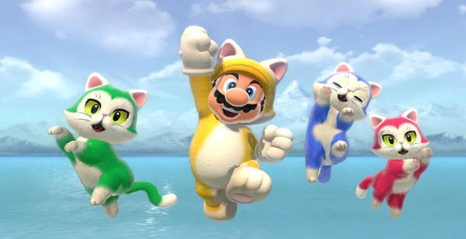 《超级马里奥3D世界+库巴之怒》成2月欧洲NS下载榜榜首