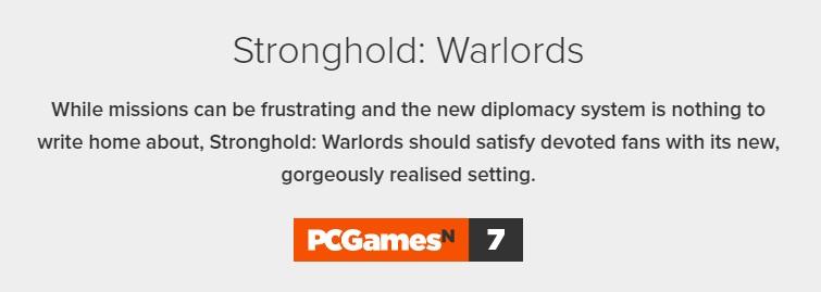 《要塞:群雄割据》IGN 7分:东亚背景令人耳目一新 但略无聊 像10年前游戏