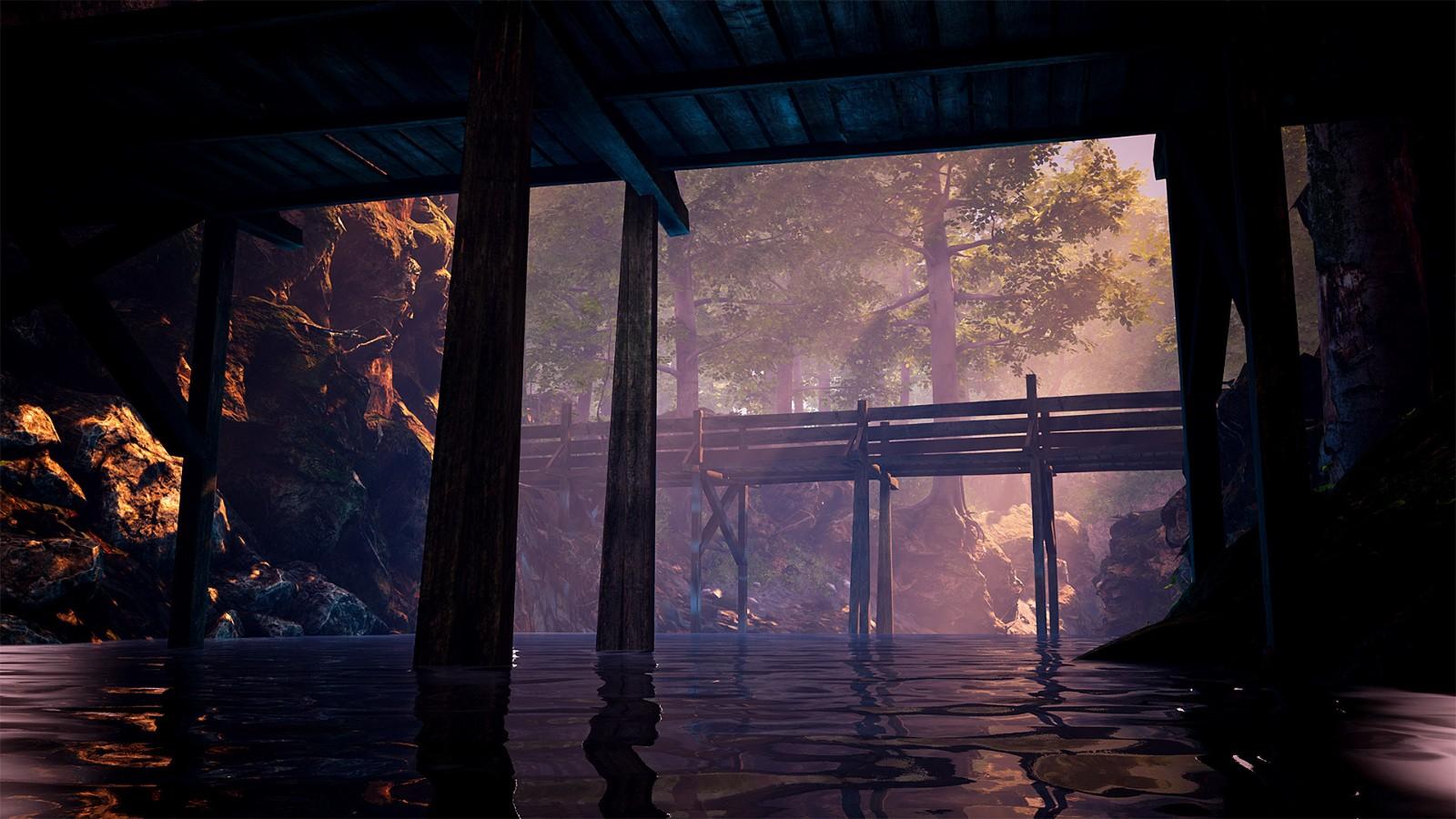 步行模拟探索游戏《传说中的森林》3月25日发售