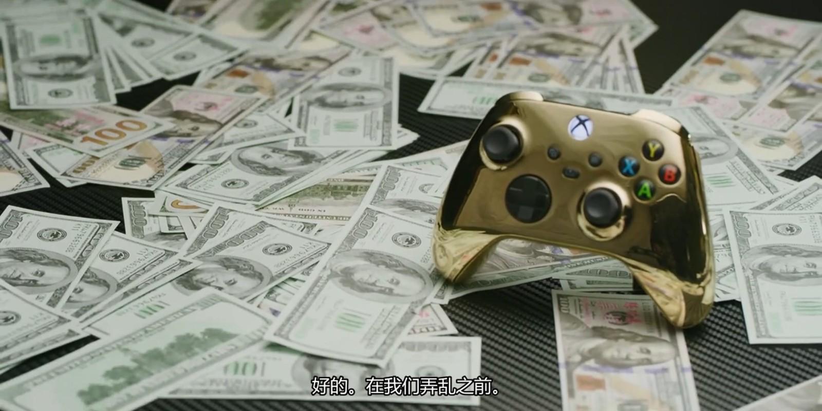 油管主用纯金制作最贵Xbox手柄 造价57万余元
