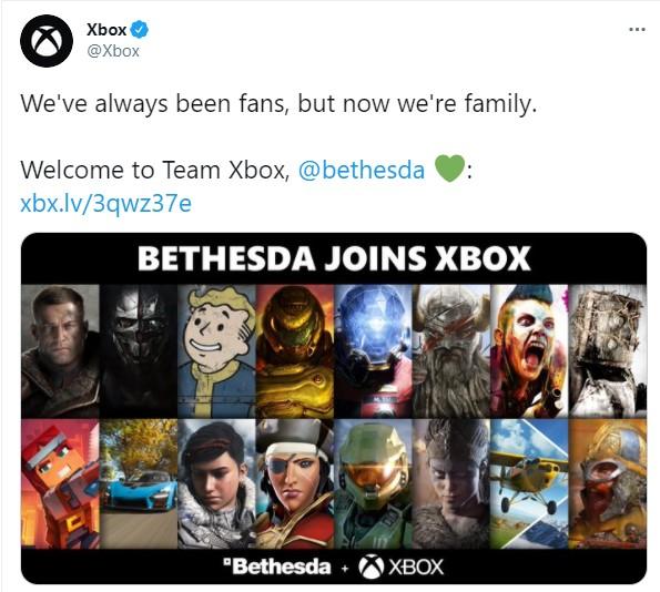 微软正式完成对B社的收购 更多B社游戏将加入XGP