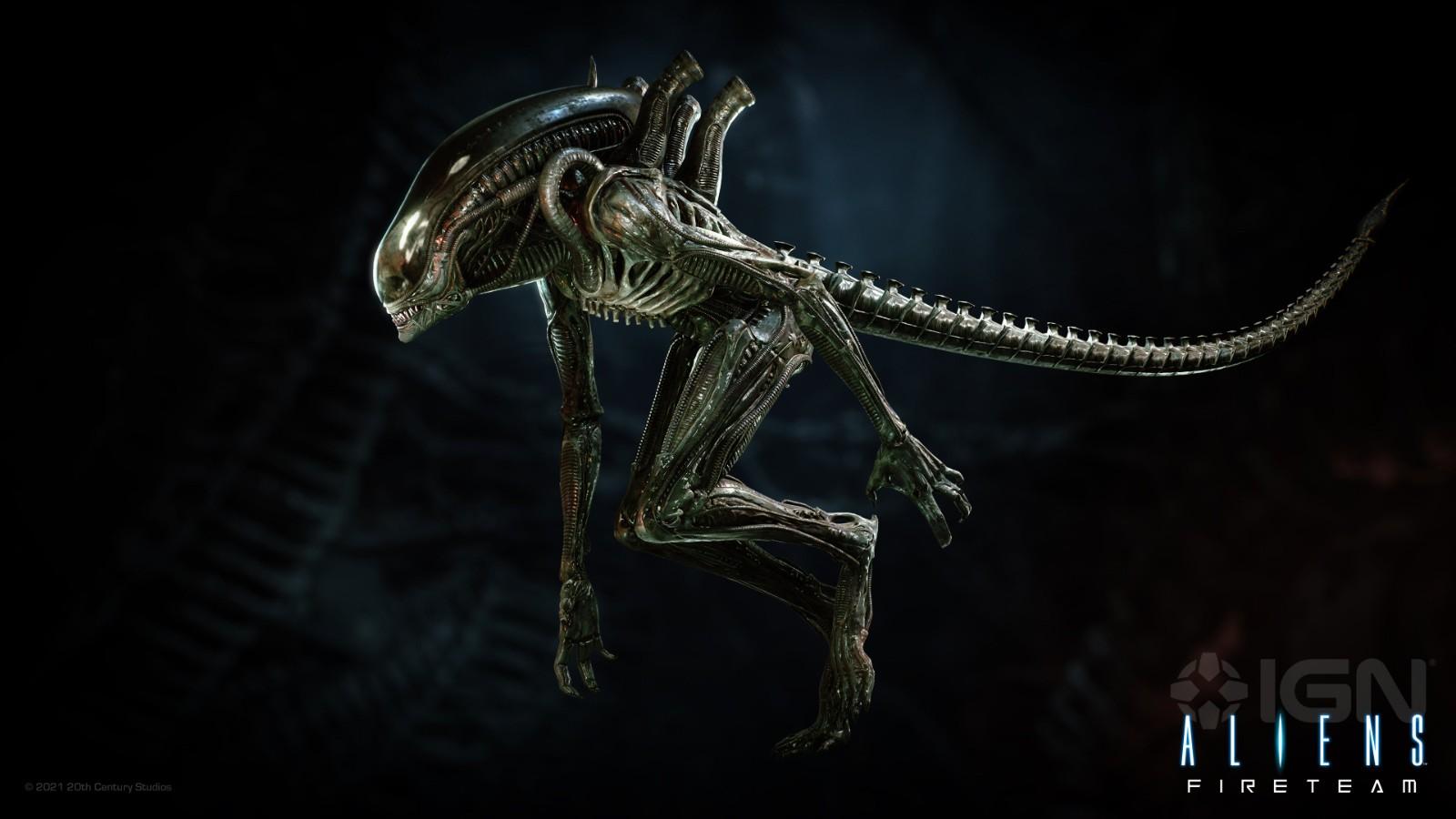 《异形:火力小队》怪物概念图 这些异形太难缠了