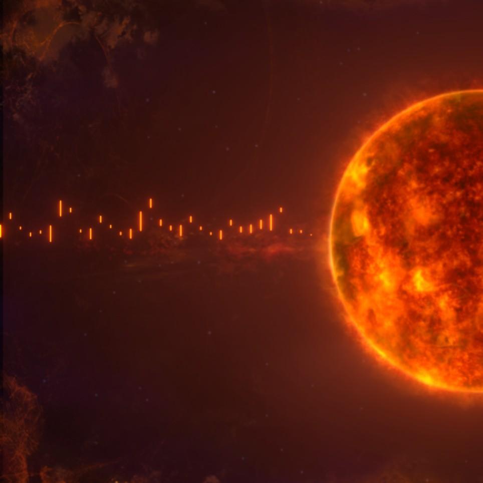 《Wallpaper Engine》太阳恒星音频响应动态壁纸