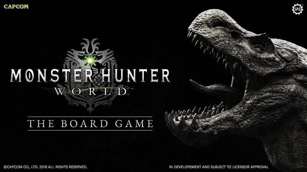 《怪物猎人:世界》桌游4月20日开始众筹
