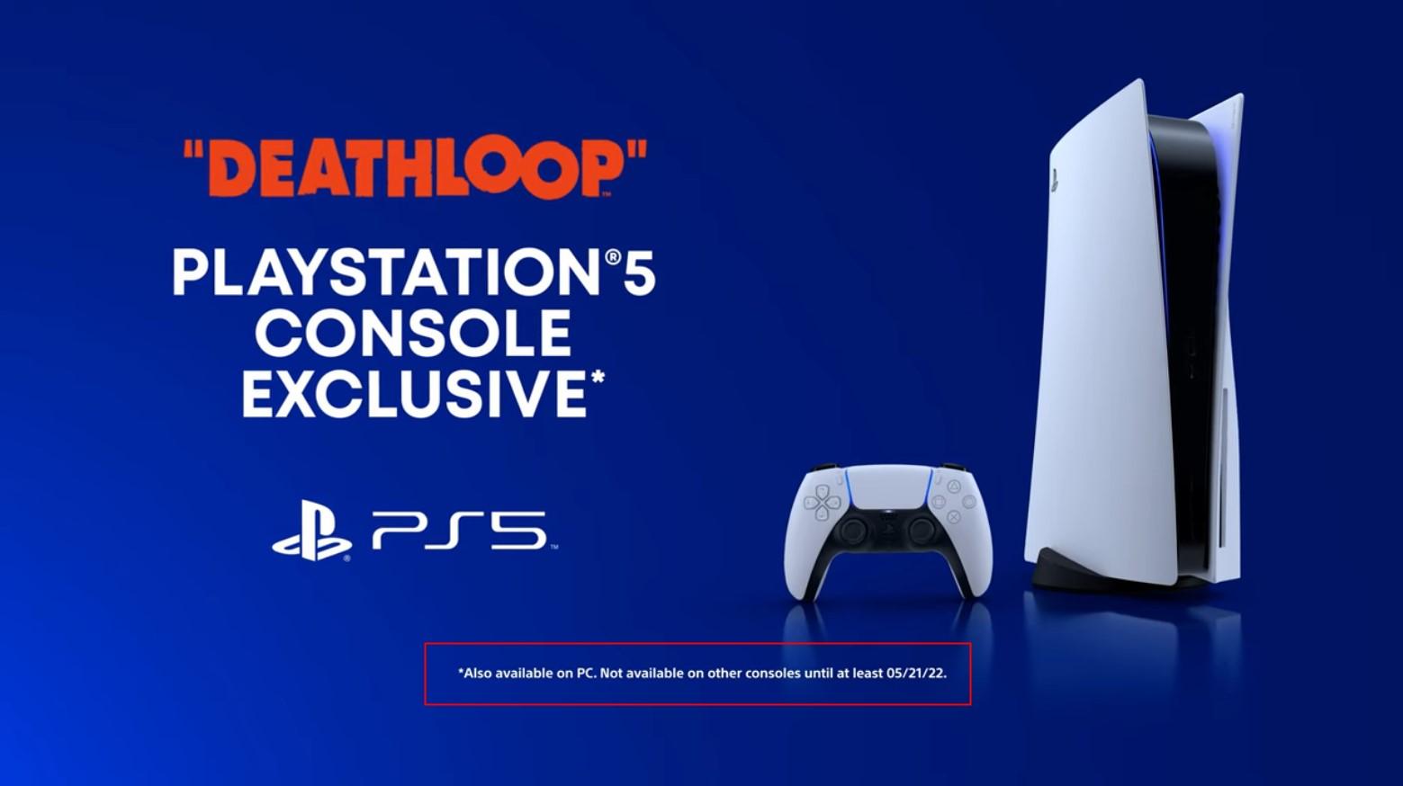 B社:虽然微软收购了我们 《死亡循环》主机端PS5依旧独占