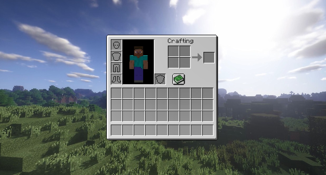 《Wallpaper Engine》MinecraftHUD背包界面动态壁纸