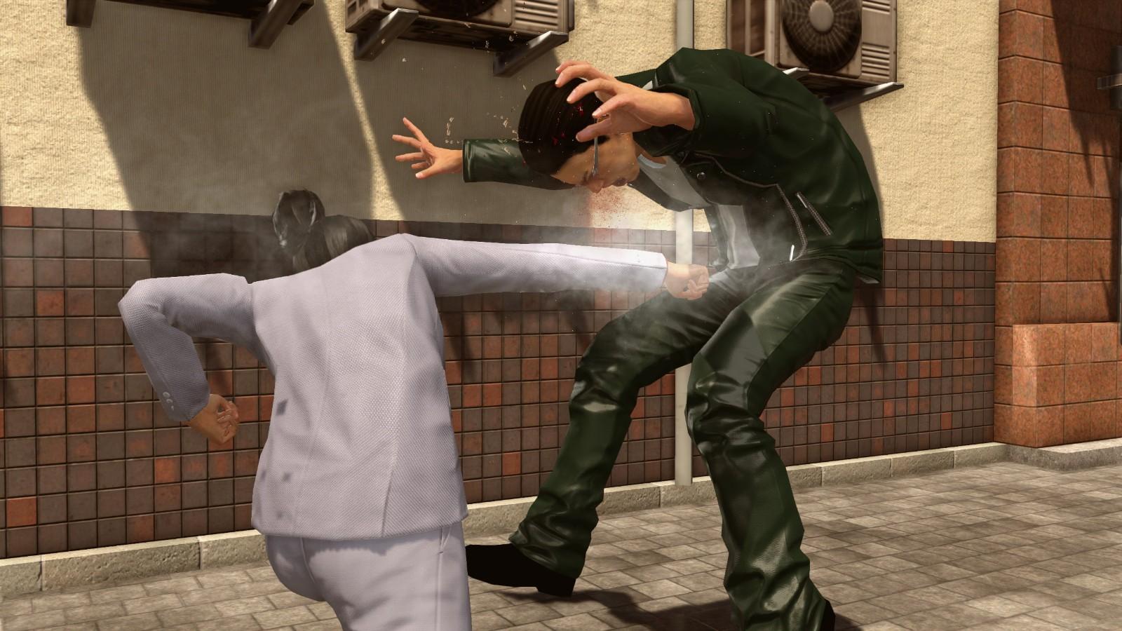 《如龙:极2》性转Mod发布 桐生一马变身为美女打手