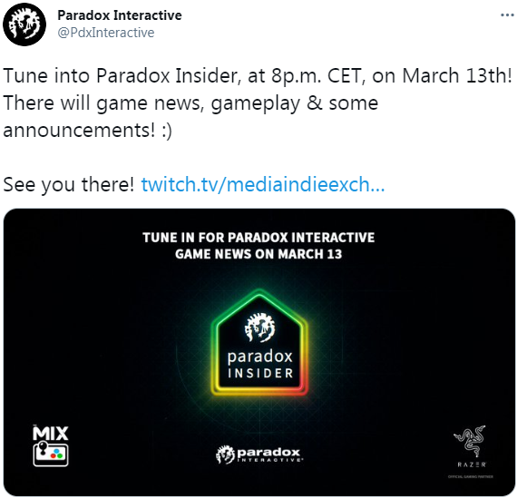P社将于3月14日举办发布会 公布游戏消息实机演示