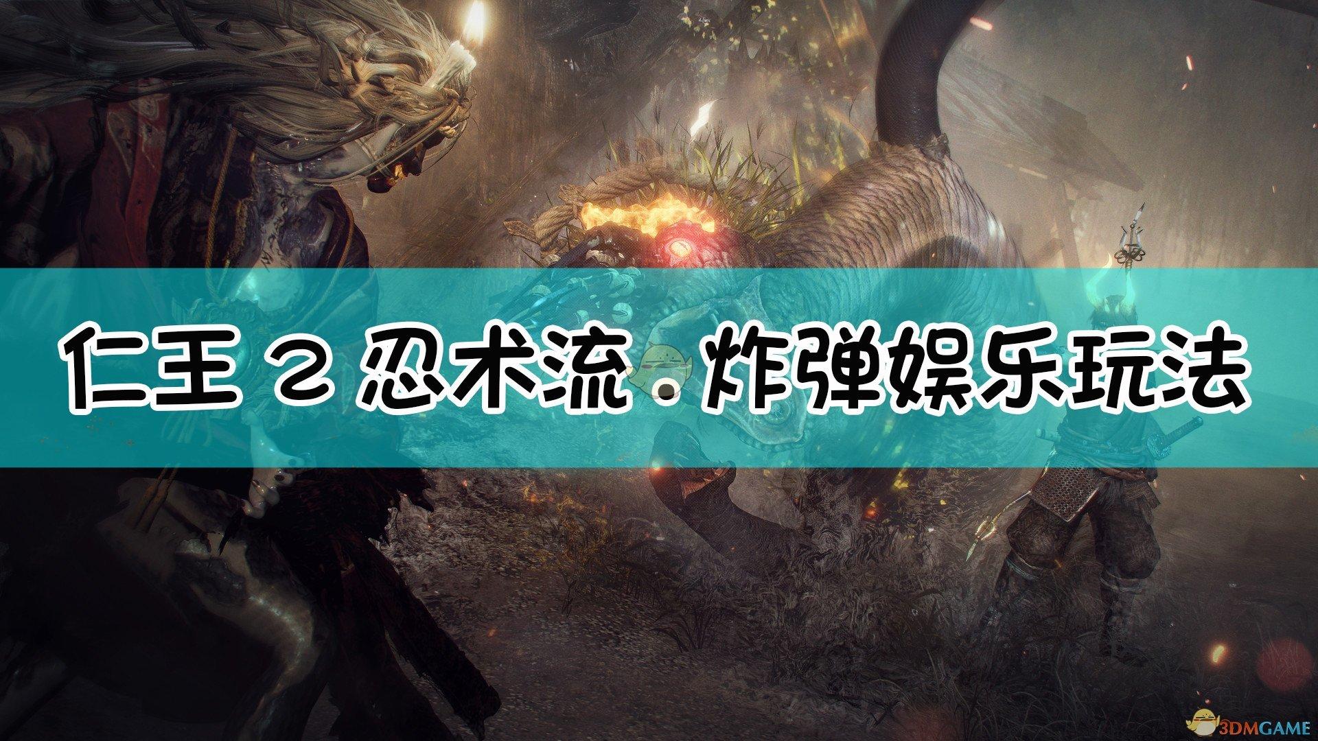 《仁王2》忍术流.炸弹娱乐玩法配装指南