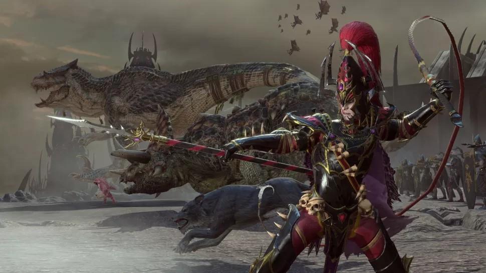 《全面战争:战锤2》新免费DLC:黑暗精灵新领主