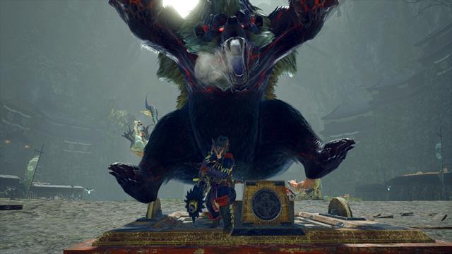 《怪物猎人:崛起》首领青熊兽演示:压倒性的威胁!