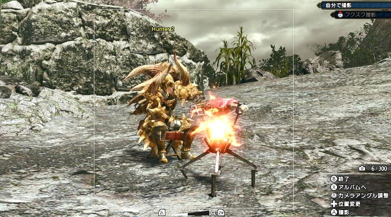 《怪物猎人:崛起》拍照功能展示:可让福木兔帮忙拍摄