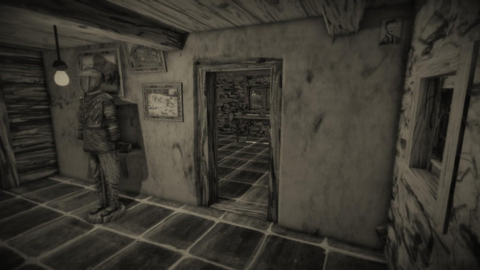 铅笔画风格恐怖游戏《蒙道恩》发售 Steam国区70元