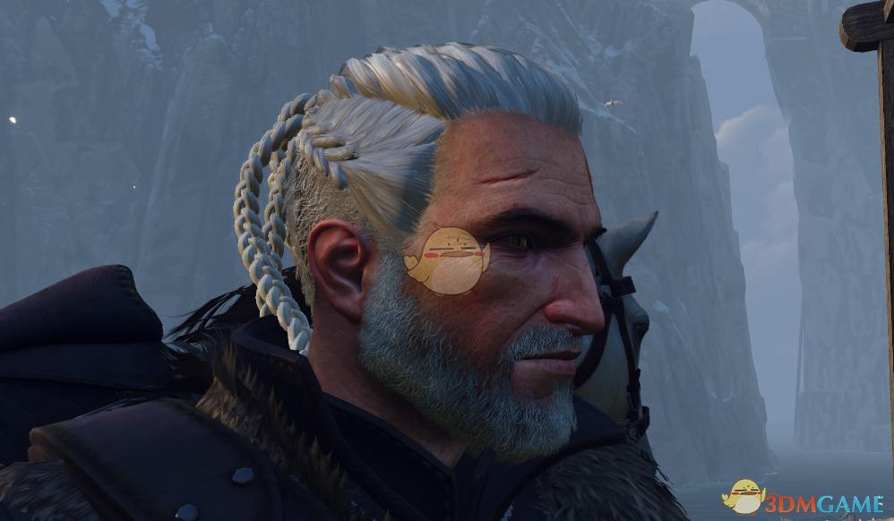 《巫师3:狂猎》杰洛特的维京人发型MOD