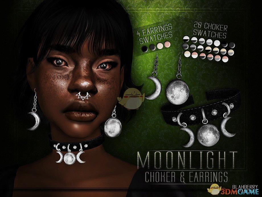 《模拟人生4》月光项链和耳环MOD