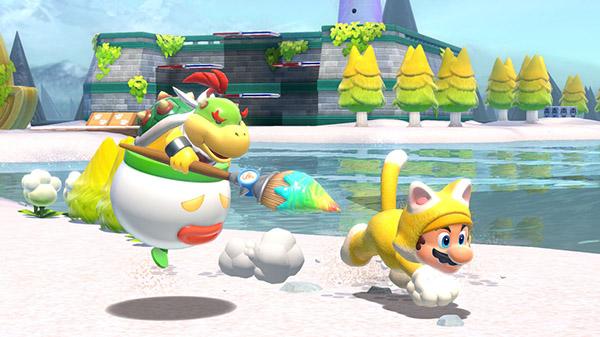 Fami通新一漫游戏销量榜 《超等马力欧3D天下 + 狂