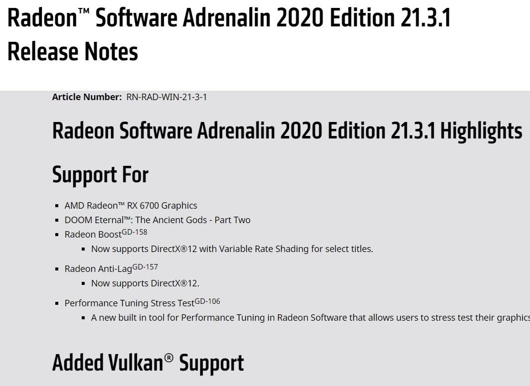 修复《2077》《轩辕剑7》BugAMD发布21.3.1版显卡驱动