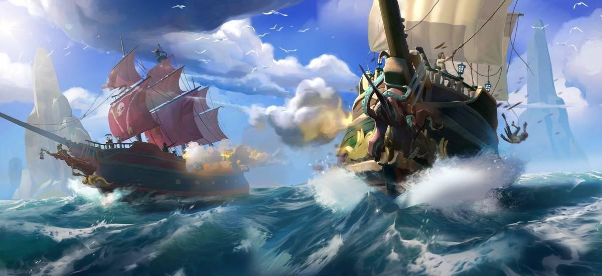《盗贼之海》玩家数突破2千万 新更新上线狂送礼物