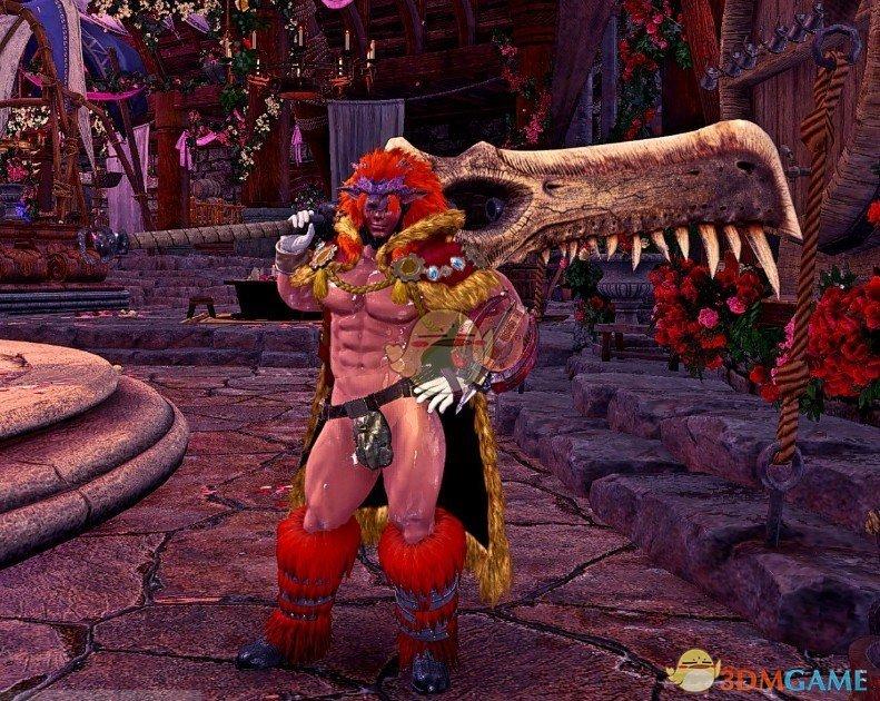 《怪物猎人:世界》炎王龙套健美身材MOD