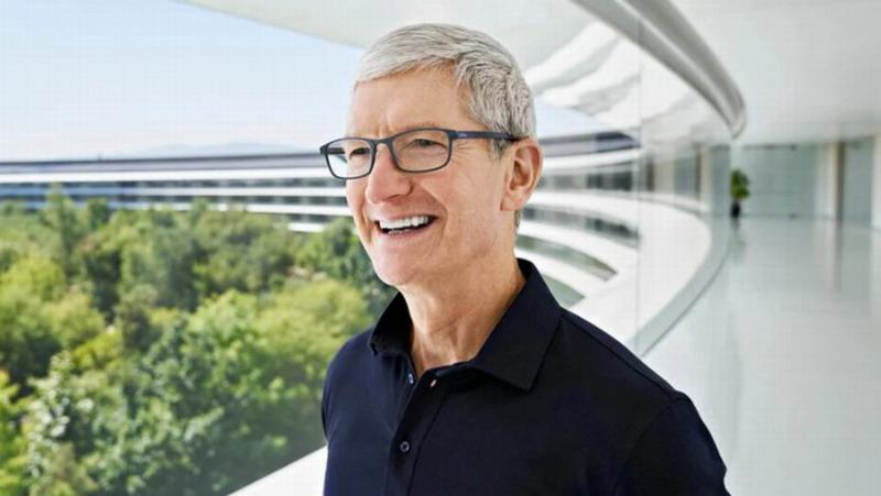 苹果CEO库克:我天天早晨9点半睡觉 清晨4点起床