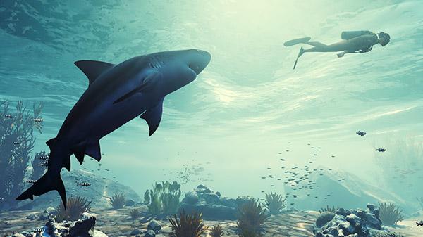 《食人鲨》Switch版3月25日发售 依靠自身努力求生