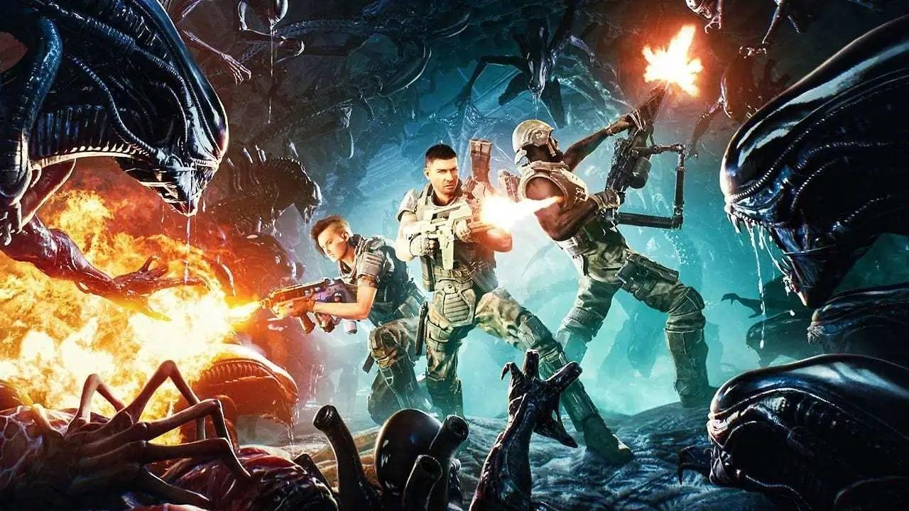 异形新作《异形:火力小队》公布六种武器