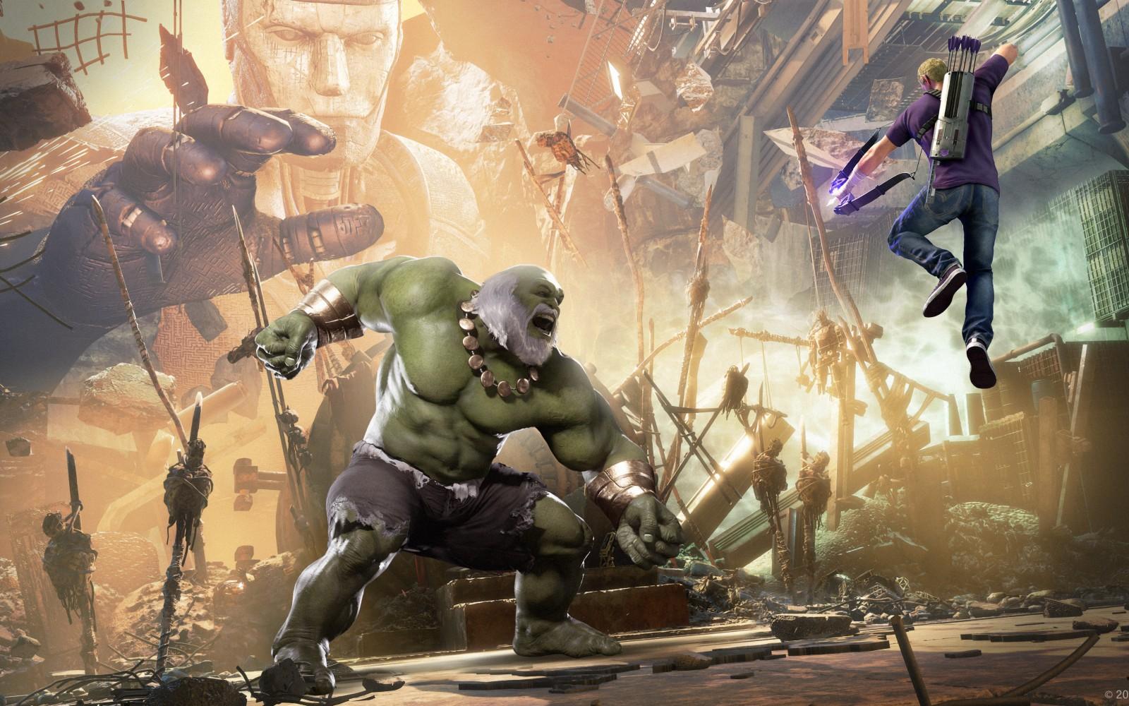 《漫威复仇者联盟》次世代双版本对比 XSX版表现更佳