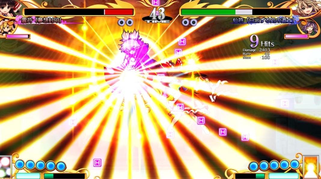2D格斗《东方凭依华》确定4月22日登陆NS/PS4 最新PV公开