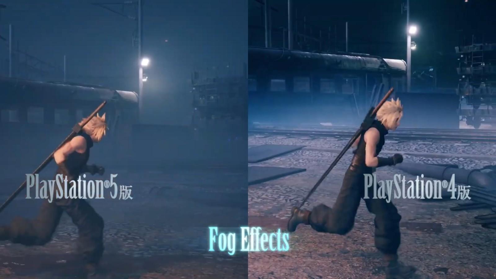 《最终幻想7:重制版 INTERGRADE》特色展示影像 PS5和PS4对比展示