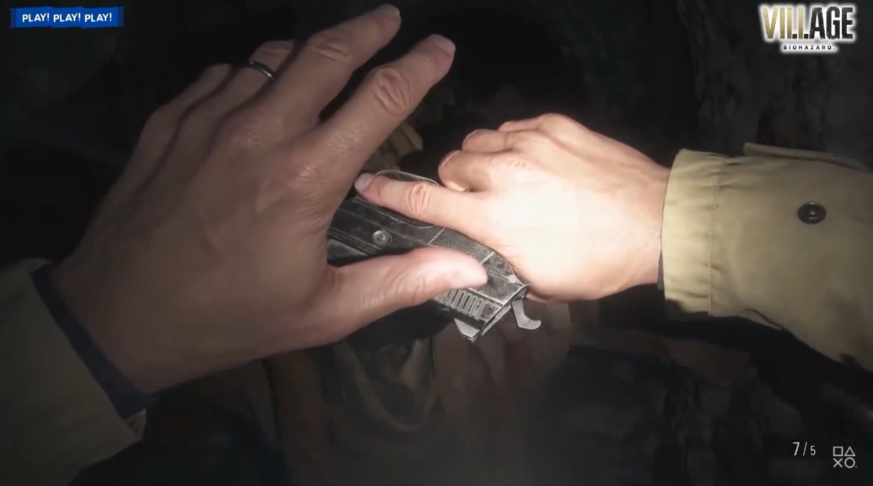 《生化危机8》新演示公布 展示伊森战斗画面