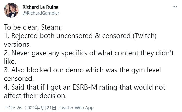 开发者回应《超级情圣3》下架:和谐版都不给过审