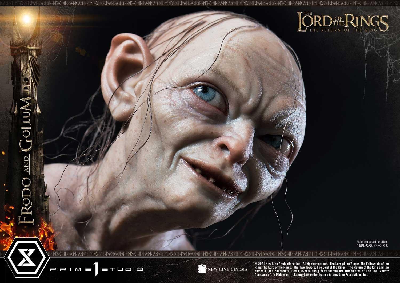 P1S《指环王3》佛罗多&咕噜套装雕像 售价1099美元