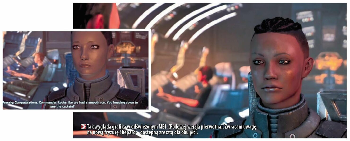 《质量效应传奇版》新截图对比初代双版本角色细节