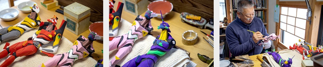 百年博多人形版EVA机体公开 165万日元天价收藏者向