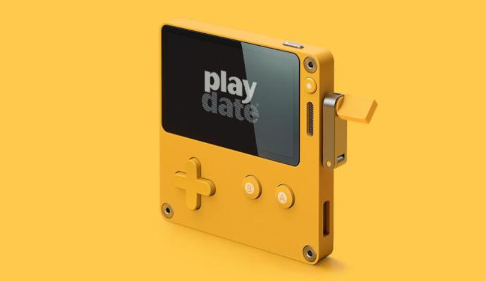 创意手摇把掌机Playdate最新演示 PC等平台轻松联动