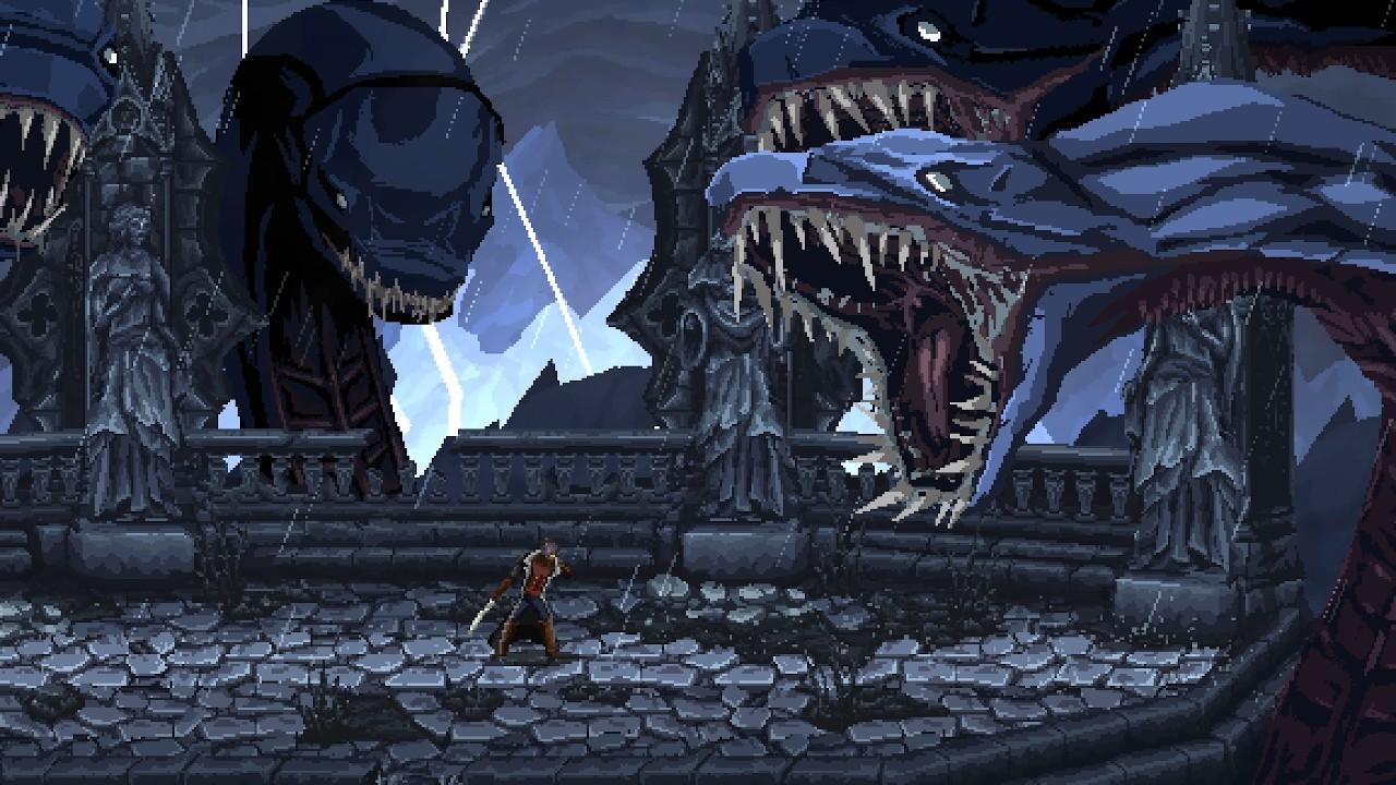 《最后的信念》超长演示 深受《恶魔城》《血源