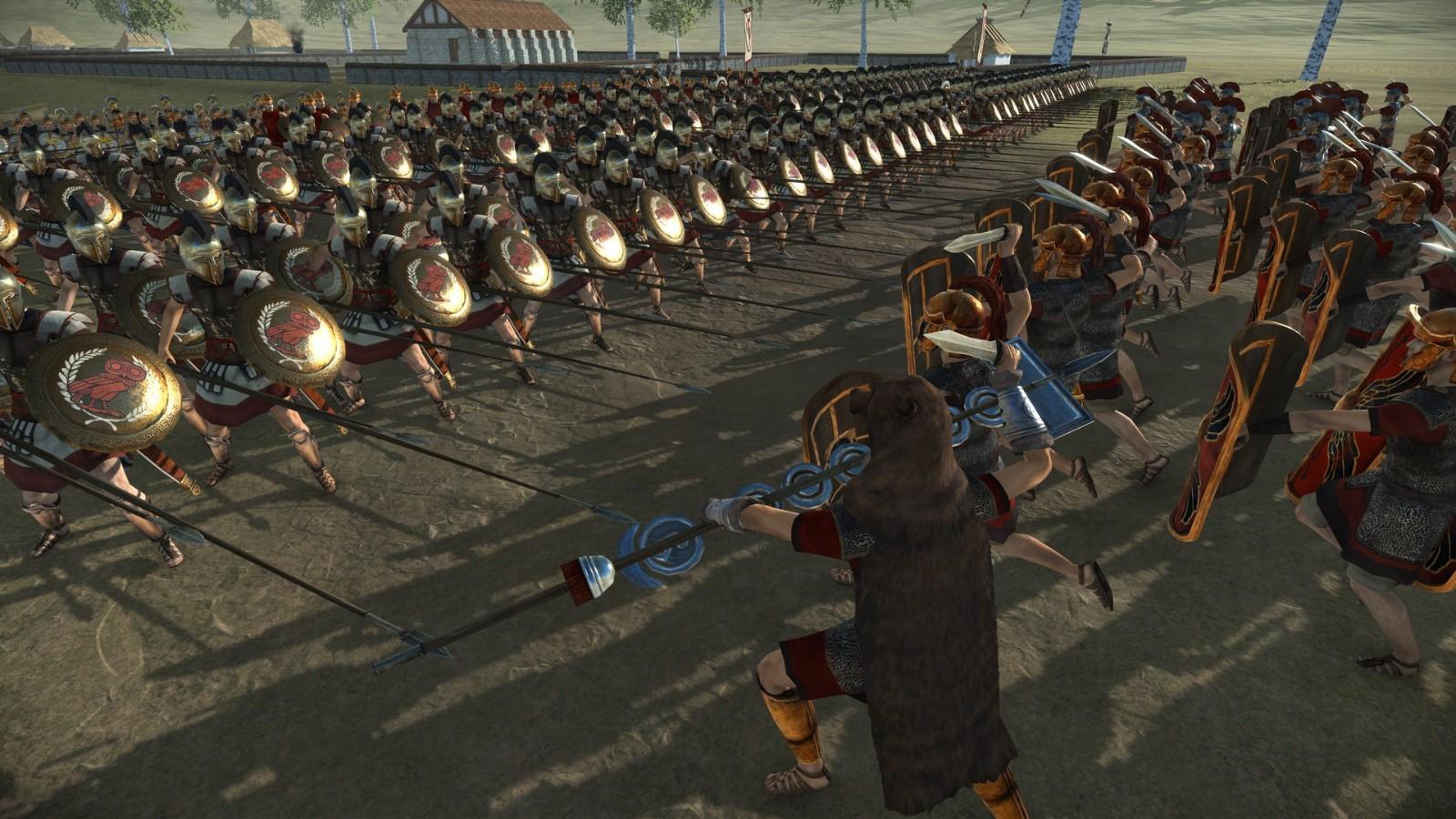 世嘉公布《全面战争:罗马》重制版 宣传片分享