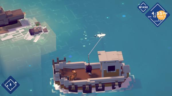 钓鱼RPG《月光水岸》上架Steam 今年上市 支持中文