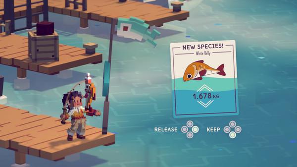钓鱼RPG月光水岸 上架Steam 今年上市 支持中文