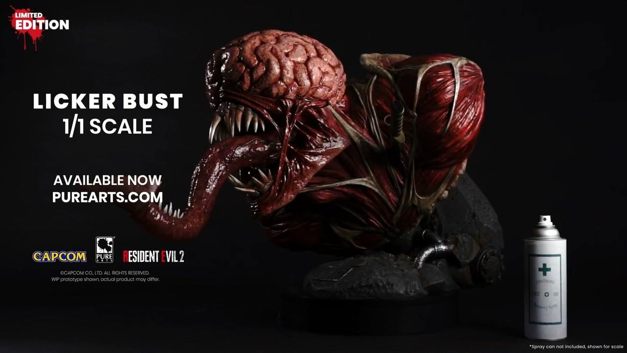 《生化危机2》舔食者1:1雕塑公布 900美元限量100个