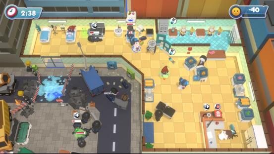 派对游戏《大救特救》锐意开发中,和损友一起拯救世界