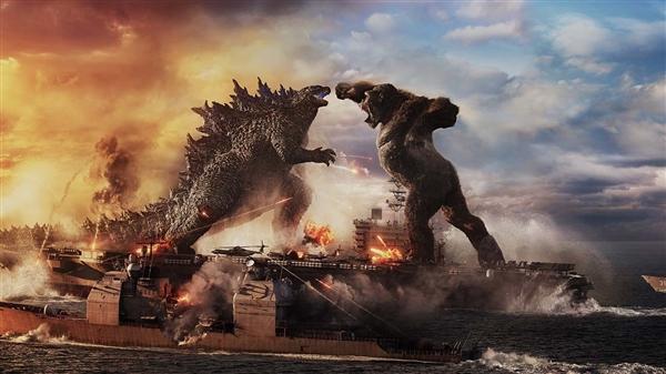 《哥斯拉大战金刚》创疫情后好莱坞影片最高票房纪录