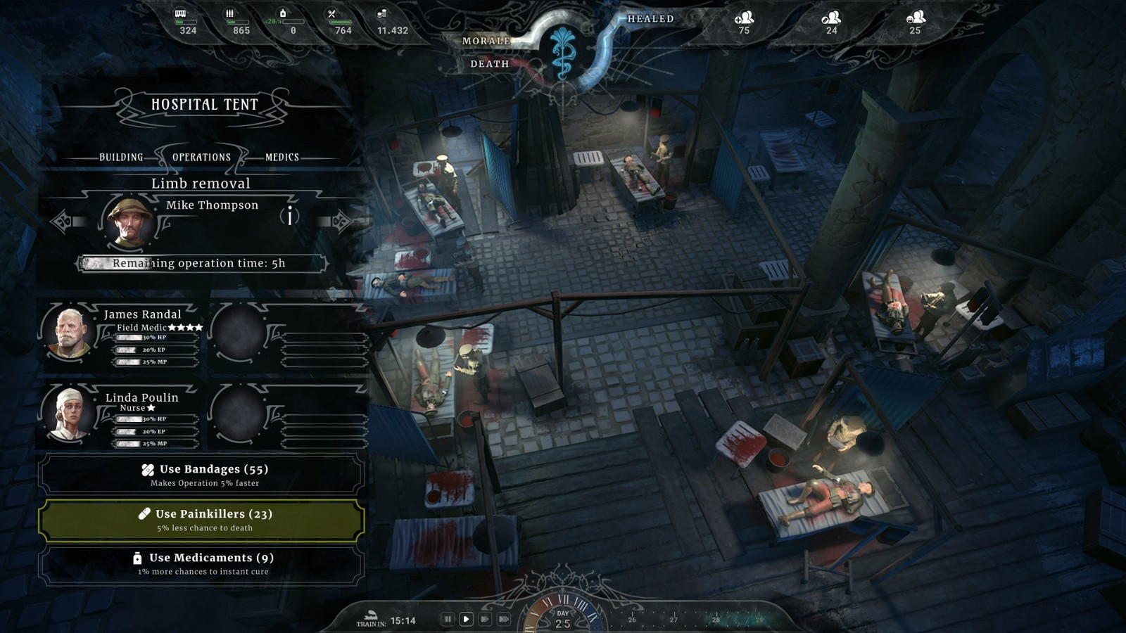 战争游戏《战地医院》上架Steam 明年发售支持中文