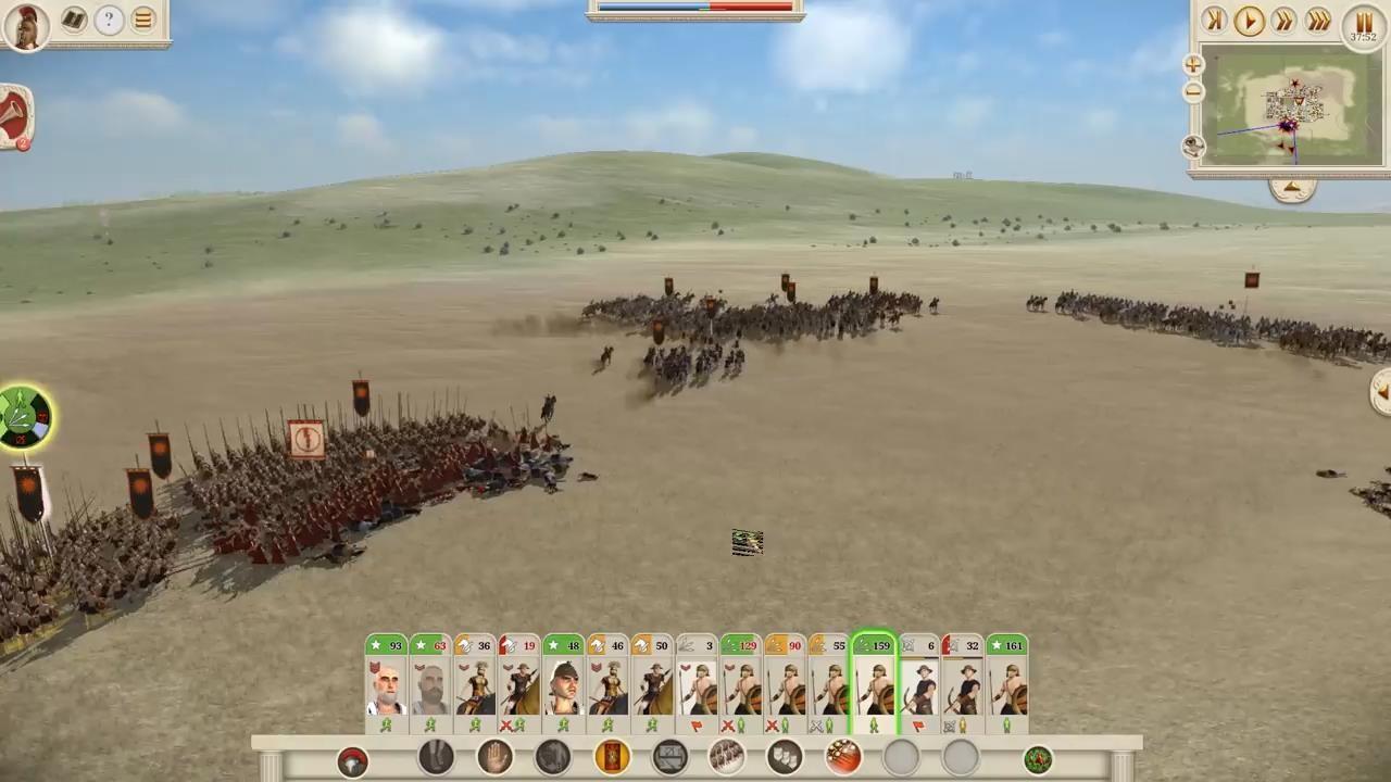 《全面战争:罗马》重制版新演示视频 罗马大军归来