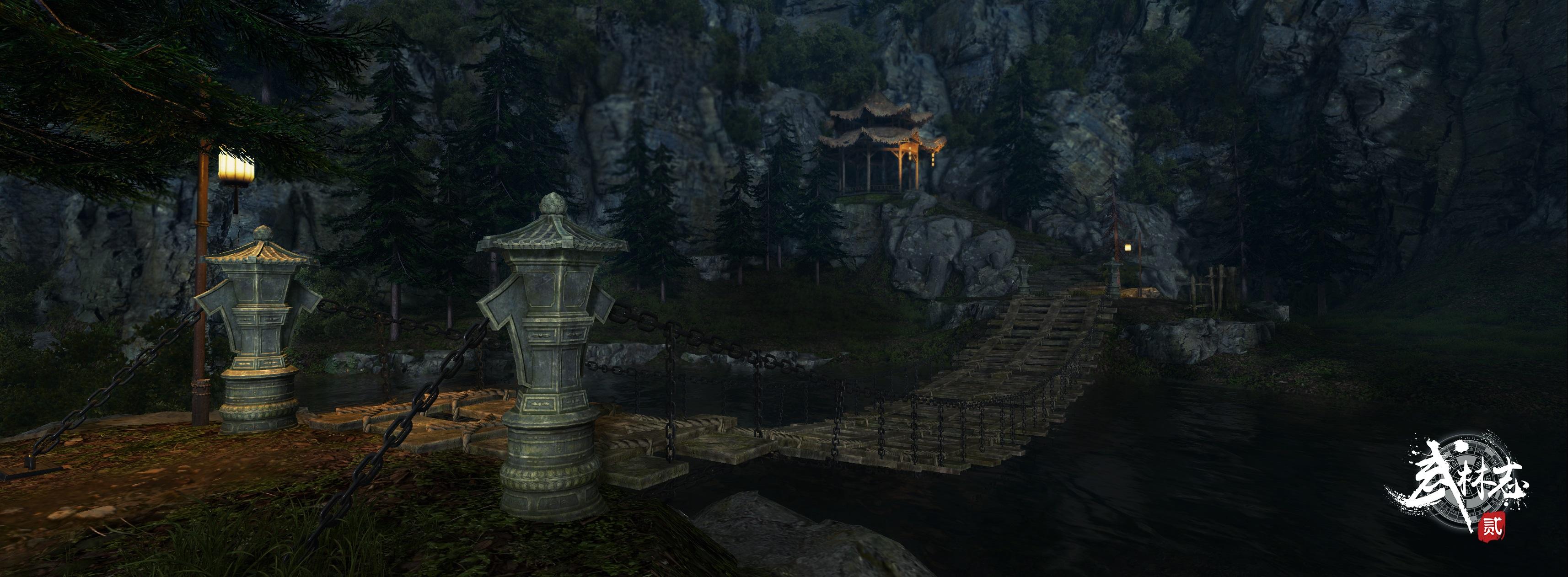 独立武侠游戏《武林志2》江湖势力背景曝光,动作连击实机演示