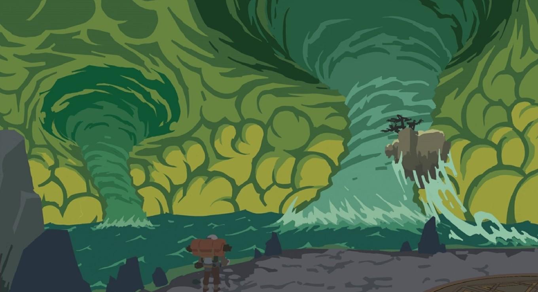 《Wallpaper Engine》星际拓荒海洋龙卷动态壁纸